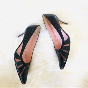 Amalfi | Black Pointy Heels